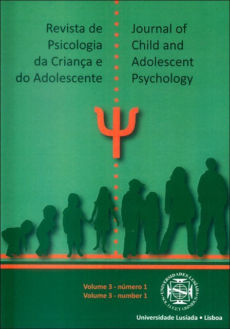 Revista de psicologia da criança e do adolescente= Journal of child and adolescent psychology [Vol. 3 N.º 1 (1.º semestre 2012)]