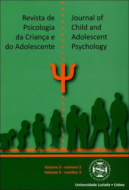 Revista de psicologia da criança e do adolescente= Journal of child and adolescent psychology [Vol. 3 N.º 2 (2.º semestre 2012)]
